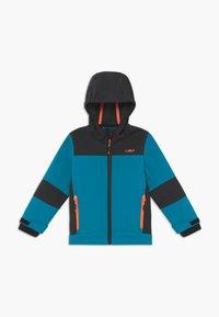 CMP - KID FIX HOOD UNISEX - Soft shell jacket - ottanio - 0