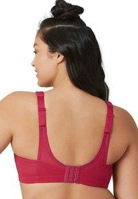 Glamorise - NAHTLOSER MAGICLIFT - Sports bra - rubinrot - 1