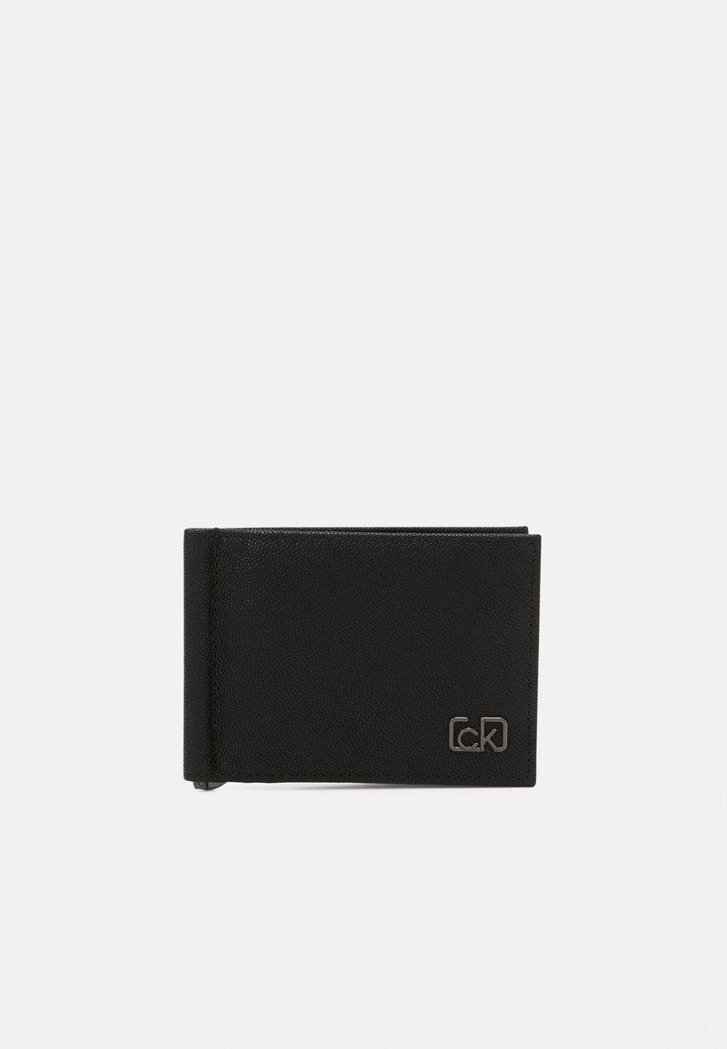 Calvin Klein - BIFOLD MONEY CLIP - Wallet - black