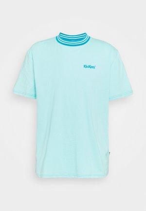 TEE - Basic T-shirt - aqua