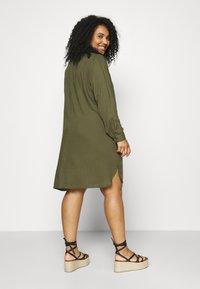 Zizzi - KNEE DRESS - Day dress - ivy green - 2