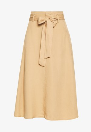 ELLYSZ SKIRT - A-line skirt - iced coffee