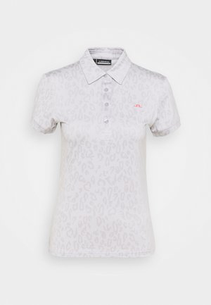 ALAYA GOLF - Print T-shirt - grey/white