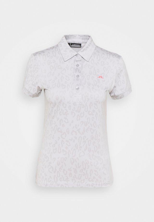 ALAYA GOLF - Camiseta estampada - grey/white