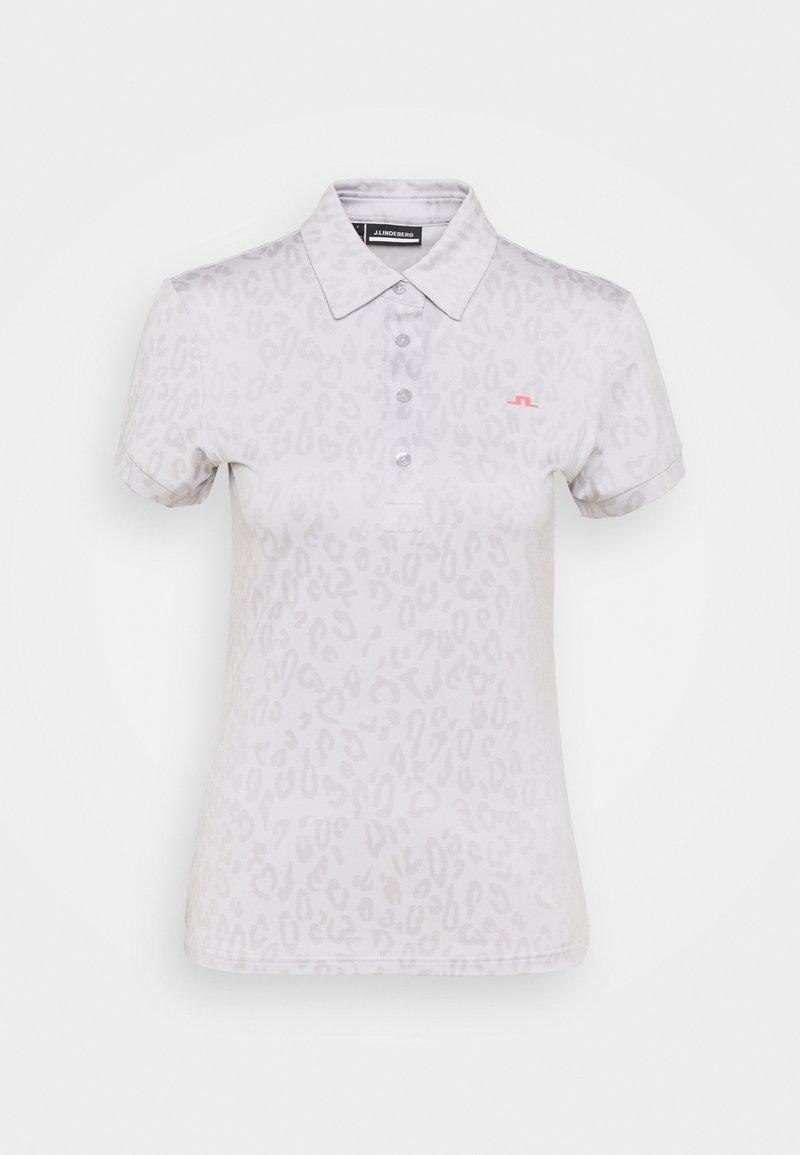 J.LINDEBERG - ALAYA GOLF - Print T-shirt - grey/white