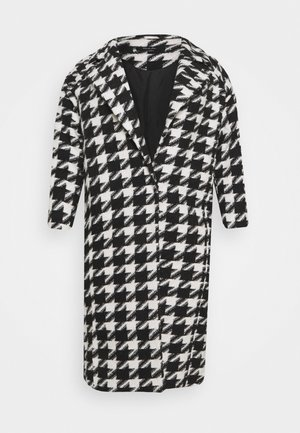 DOGTOOTH COAT - Kåpe / frakk - black/white