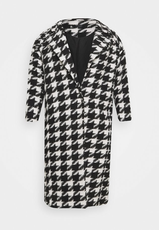 DOGTOOTH COAT - Manteau classique - black/white