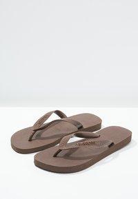 Havaianas - TOP - Pool shoes - dark brown - 1