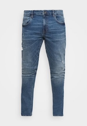 USGENEVE DESTROY - Slim fit jeans - nova blue