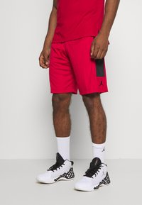 Jordan - AIR DRY SHORT - Sports shorts - gym red/black/black - 0