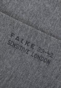 FALKE - SEN LONDON - Socks - light greymelange - 1