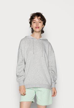 FRANCI  - Bluza z kapturem - light grey melange
