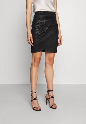 WAKA - Mini skirts  - black