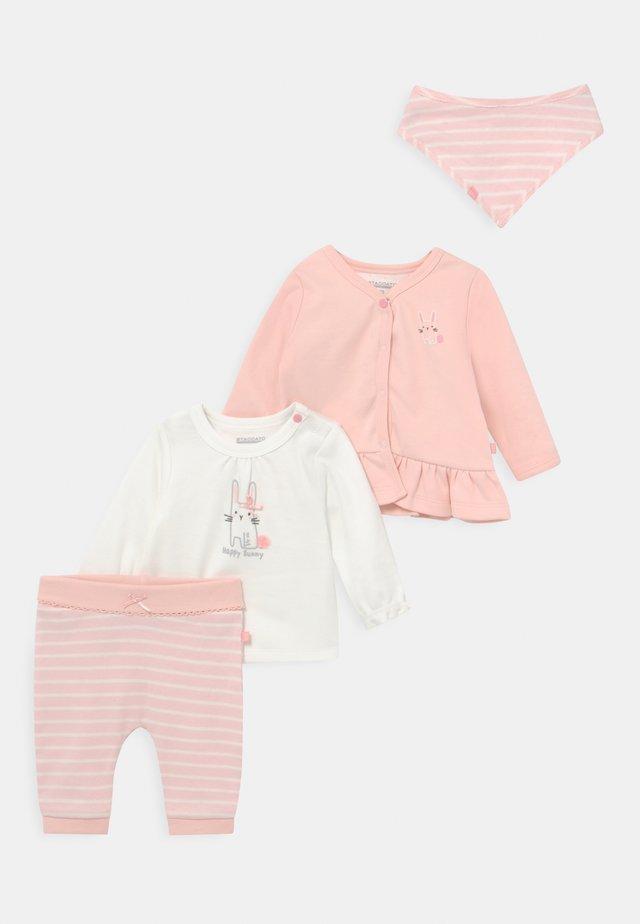 SET  - Strickjacke - light pink
