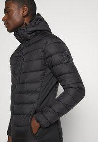 Alessandro Zavetti - CANADA VAMIATA HYBRID JACKET - Light jacket - black - 5