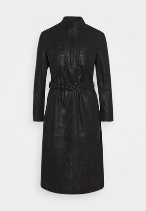 DRESS BELT - Košilové šaty - black