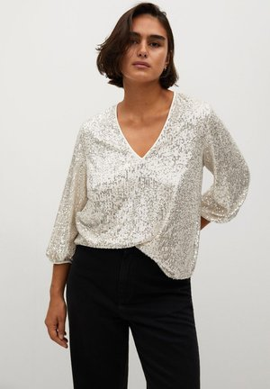 REMEMBER - Blouse - stříbrná