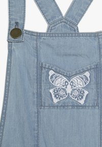 Lili Gaufrette - GAGE - Dungarees - light-blue denim