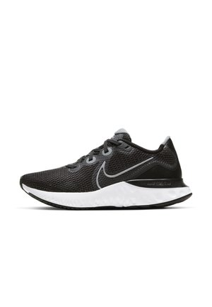 RENEW RUN - Neutral running shoes - black/white/dark smoke grey/metallic silver