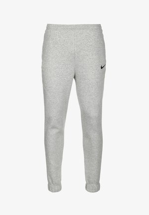 PARK 20  - Tracksuit bottoms - dark grey heather / black