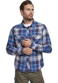 Brandit - HERREN CHECKSHIRT - Shirt - navy - 2