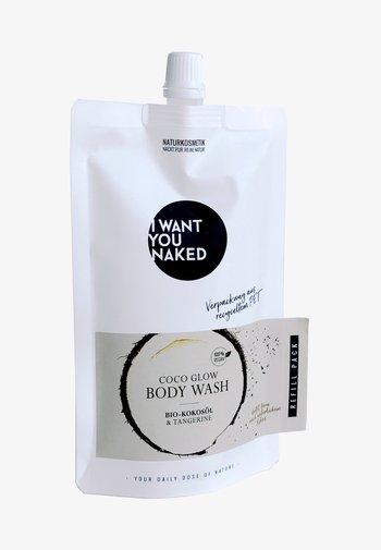COCO GLOW BODY WASH BIO-KOKOSÖL & TANGERINEREFILL - Shower gel - -