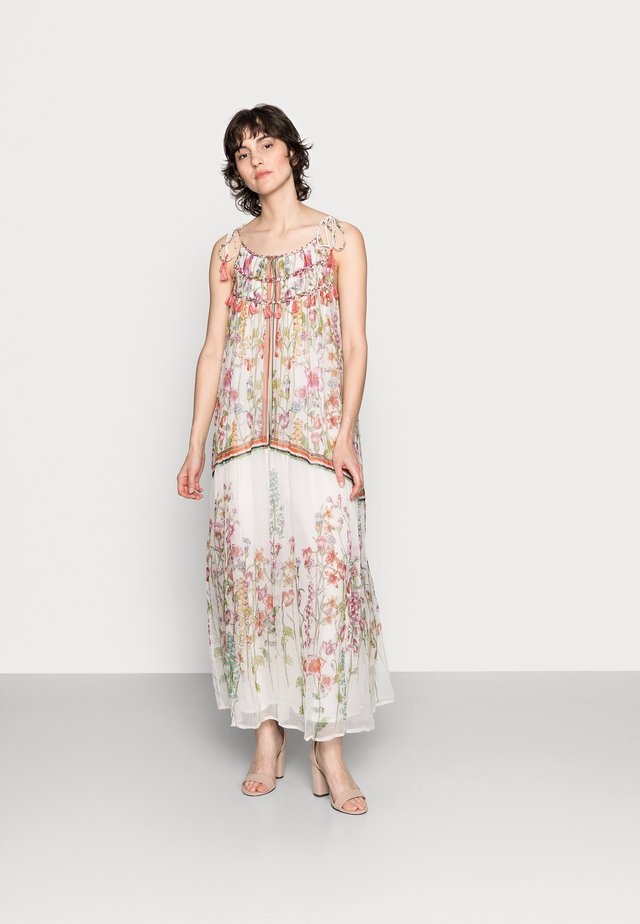 SINGAPOUR DRESS - Vestito lungo - off white
