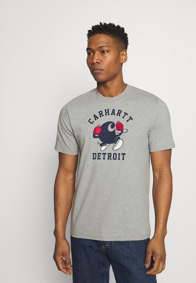 BOXING  - T-shirt print - grey heather