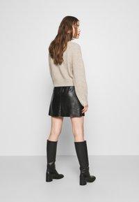 Vero Moda - VMSYLVIA SKIRT - A-line skirt - black - 2