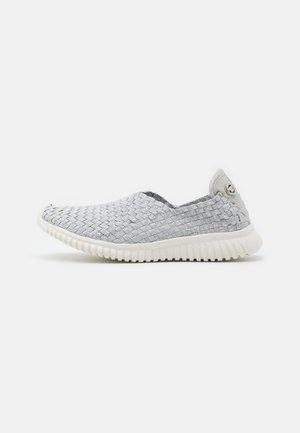 Nazouvací boty - grey/silver