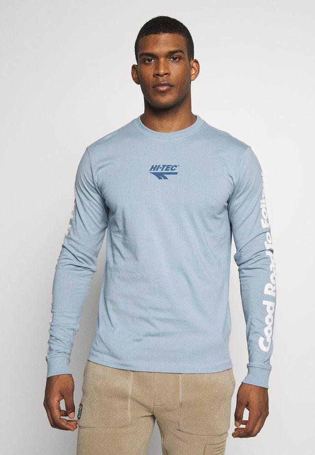 SERGE - Camiseta de manga larga - deep pool