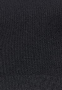 Cotton On Body - SEAMLESS HALTER RACER BACK TANK - Débardeur - black - 5