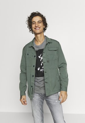 MULTIPOCKET STRAIGHT - Camicia - grey moss