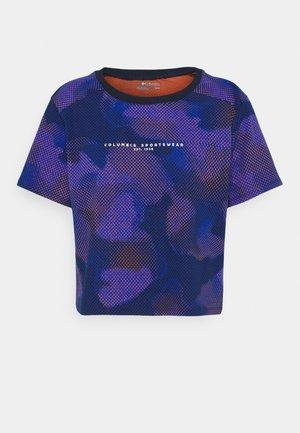 PARK™ BOX TEE - Print T-shirt - lapis blue