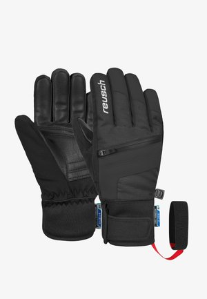 Gloves - black / white