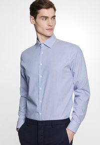 Seidensticker - SLIM FIT - Shirt - blue - 2