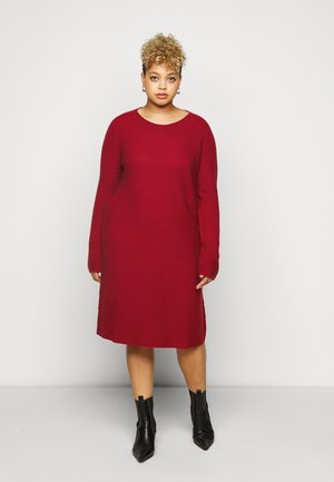 GANGE - Jumper dress - red