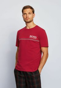 BOSS - Pyjama top - dark red - 0