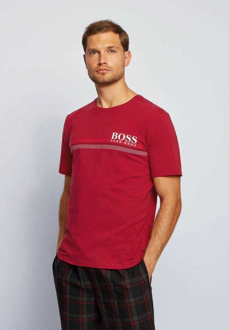 BOSS - Pyjama top - dark red