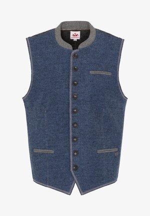 NOVUM - Waistcoat - blue