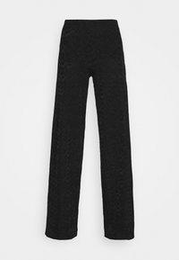 M Missoni - TROUSERS - Trousers - black - 3
