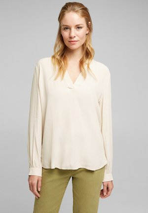 Blouse - cream beige