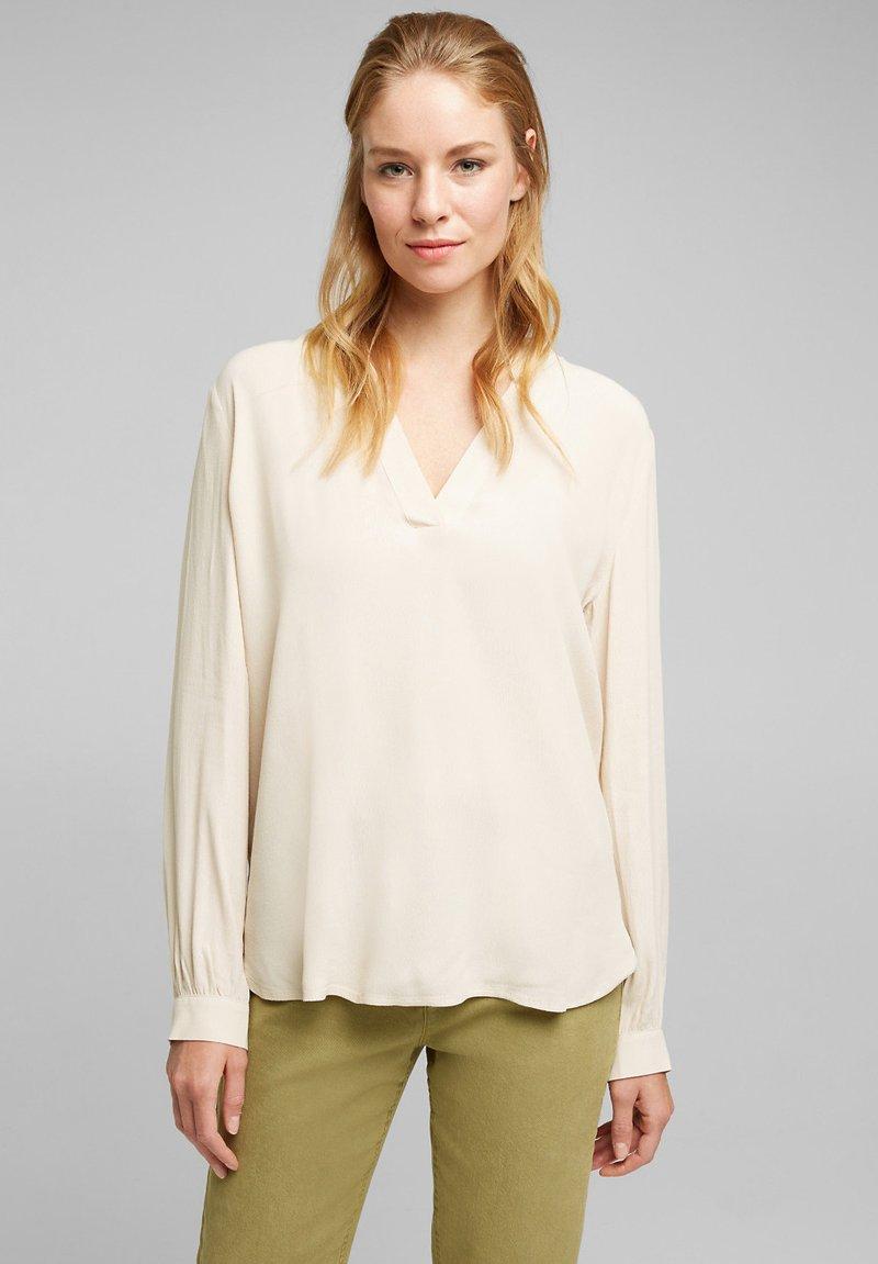 Esprit - Blouse - cream beige