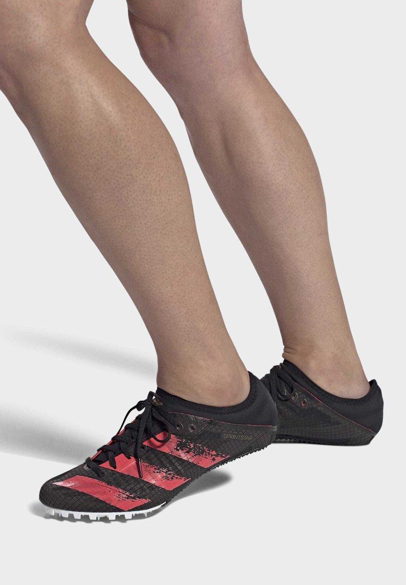 adidas Performance - SPRINTSTAR SPIKES - Spikes - black