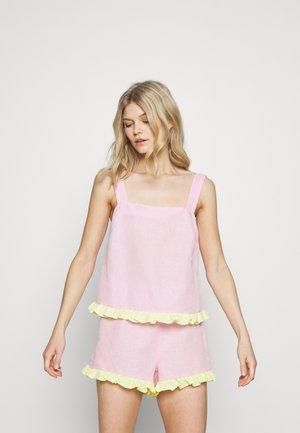 EMELIE CAMI - Pyjamashirt - pastel pink