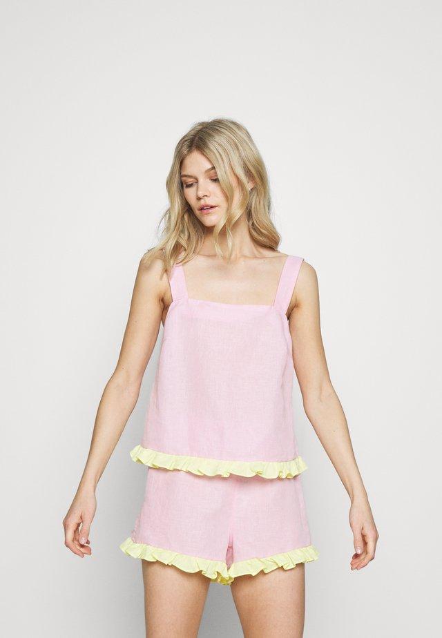 EMELIE CAMI - Maglia del pigiama - pastel pink