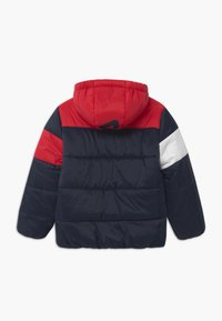 Fila - LYNN PUFF UNISEX - Winter jacket - black iris/true red/bright white - 1