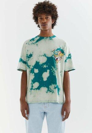 TOM & JERRY - Print T-shirt - green