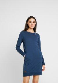 Ragwear - MENITA - Korte jurk - denim blue - 0