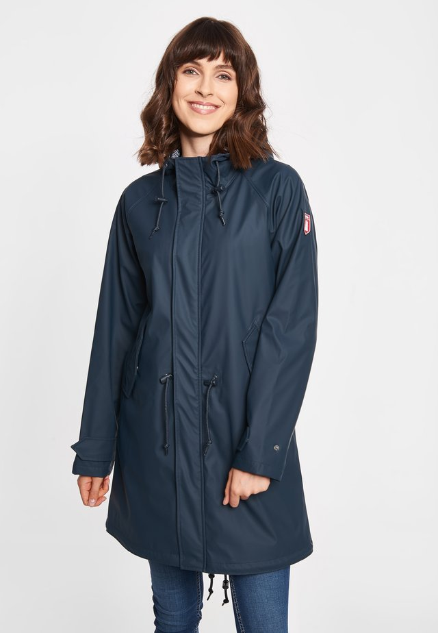 TRAVEL FRIESE FISHER - Parka - navy